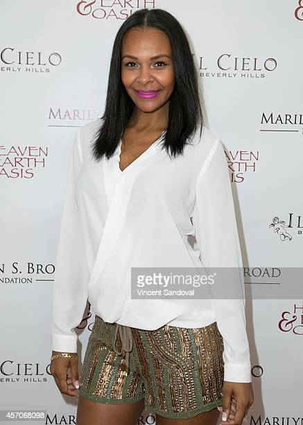 Singer Samantha Mumba attends the Heaven and Earth Oasis Charity fundraiser at Il Cielo on October 11, 2014 in Beverly Hills, California.