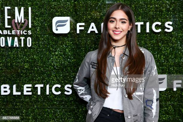 Singer Sammi Sanchez attends the launch of Fabletics Capsule Collection at the Beverly Hills Hotel on May 10 2017 in Los Angeles California