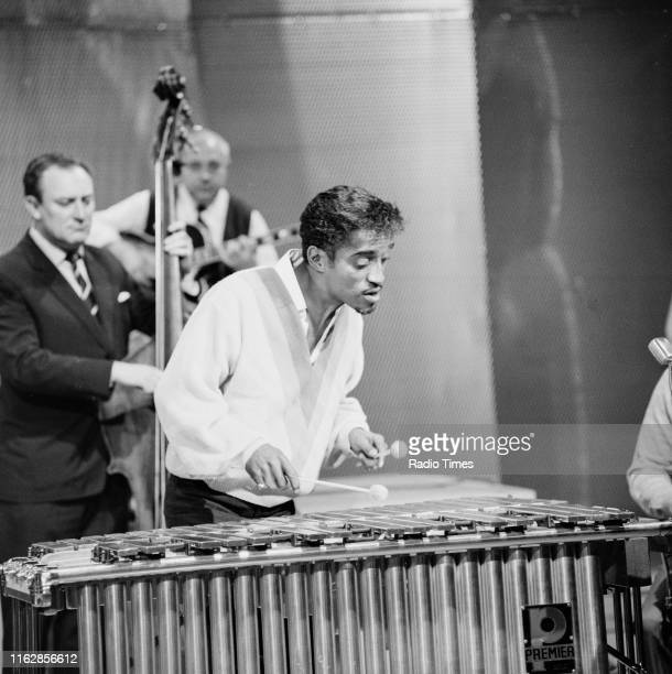 Singer Sammy Davis Jr. Performing on the BBC television special 'Meet Sammy Davis Jr.: Part 2', March 11th 1964.