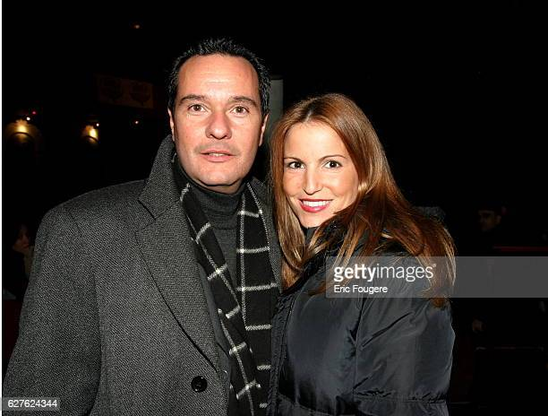 Singer Sandy Valentino attends Bruno Salamone's latest stage show