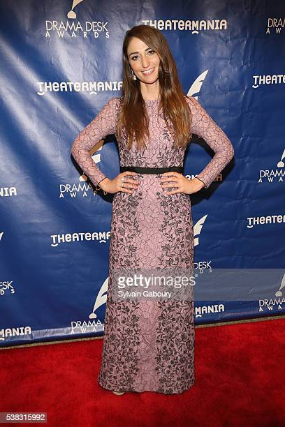 Singer Sara Bareilles attends The 61st Annual Drama Desk Awards Arrivals at Anita's Way on June 5 2016 in New York City