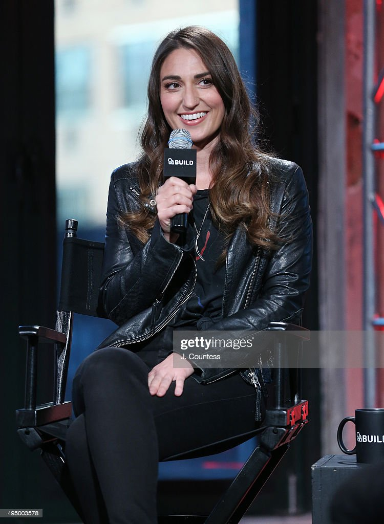 Singer Sara Bareilles speaks during the AOL BUILD Presents: 'Sounds Like Me: My Life (So Far) In Song' at AOL Studios In New York on October 30, 2015 in New York City.