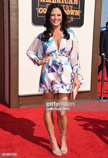 Singer Sara Evans arrives at the 2016 American Country Countdown Awards at The Forum on May 1 2016 in Inglewood California