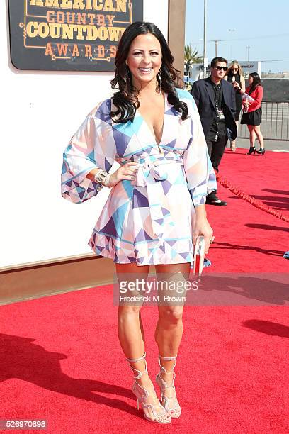 Singer Sara Evans attends the 2016 American Country Countdown Awards at The Forum on May 1 2016 in Inglewood California