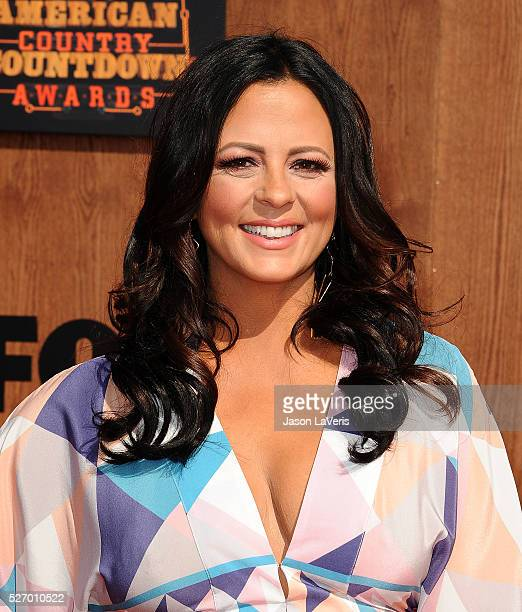 Singer Sara Evans attends the 2016 American Country Countdown Awards at The Forum on May 01 2016 in Inglewood California