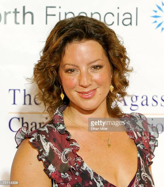Singer Sarah McLachlan arrives at the 11th annual Andre Agassi Charitable Foundation's Grand Slam benefit concert at the MGM Grand Garden Arena...