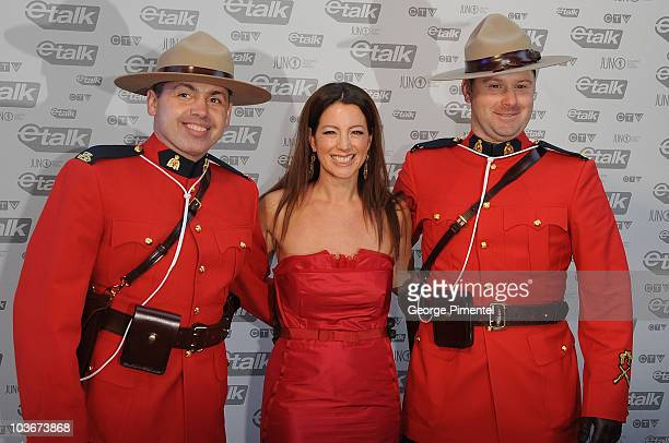Singer Sarah McLachlan attends the 2009 Juno Awards at General Motors Place on March 29, 2009 in Vancouver, British Columbia, Canada.