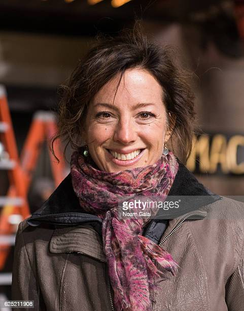 Singer Sarah McLachlan attends the 90th anniversary Macy's Thanksgiving day parade rehearsals at Macy's Herald Square on November 22 2016 in New York...
