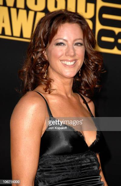Singer Sarah McLaughlin arrives at the 2008 American Music Awards held at Nokia Theatre LA LIVE on November 23 2008 in Los Angeles California