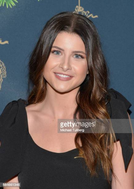 Singer Savannah Outen attends the Brooks Brothers holiday celebration with St Jude Children's Research Hospital at Brooks Brothers Rodeo on December...