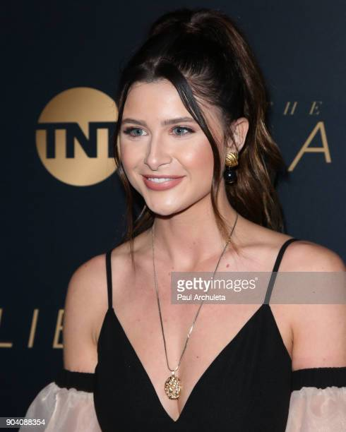 Singer Savannah Outen attends the premiere of TNT's 'The Alienist' at The Paramount Lot on January 11 2018 in Hollywood California