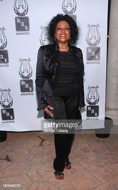 Singer Scherrie Payne attends the Heroes And Legends Foundation's 24th Annual Heroes And Legends Awards at Beverly Hills Hotel on September 22 2013...