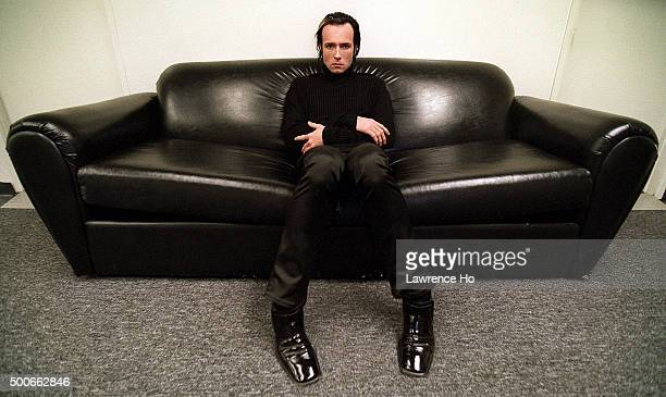Singer Scott Weiland of Stone Temple Pilots and Velvet Revolve is photographed for Los Angeles Times on February 28 1998 in Los Angeles California...