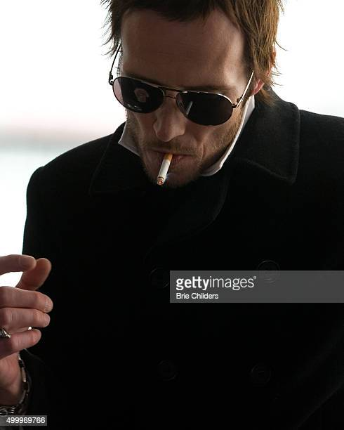 Singer Scott Weiland of Stone Temple Pilots and Velvet Revolver is photographed for Self Assignment on February 14 2007 in Hollywood California