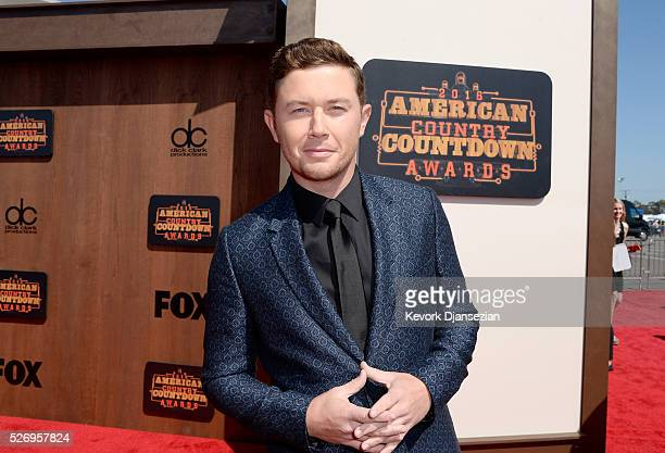 Singer Scotty McCreery attends the 2016 American Country Countdown Awards at The Forum on May 1 2016 in Inglewood California