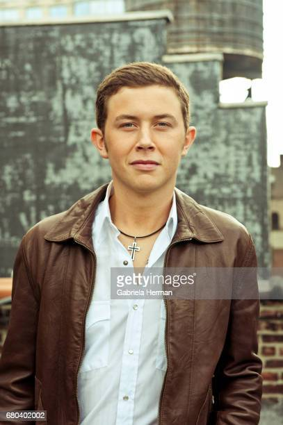 Singer Scotty McCreery is photographed for Billboard Magazine on October 3 2011 in New York City