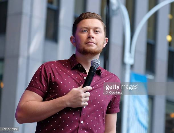Singer Scotty McCreery Performs On Fox Friends' AllAmerican Summer Concert Series on June 2 2017 in New York City