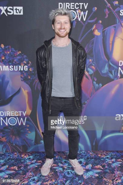 Singer Scotty Sire attends the 2018 DIRECTV NOW Super Saturday Night Concert at NOMADIC LIVE at The Armory on February 3 2018 in Minneapolis Minnesota