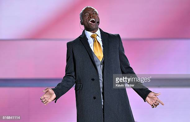Singer Seal appears in The Passion an epic musical event airing LIVE from New Orleans on FOX at Woldenberg Park on March 20 2016 in New Orleans...