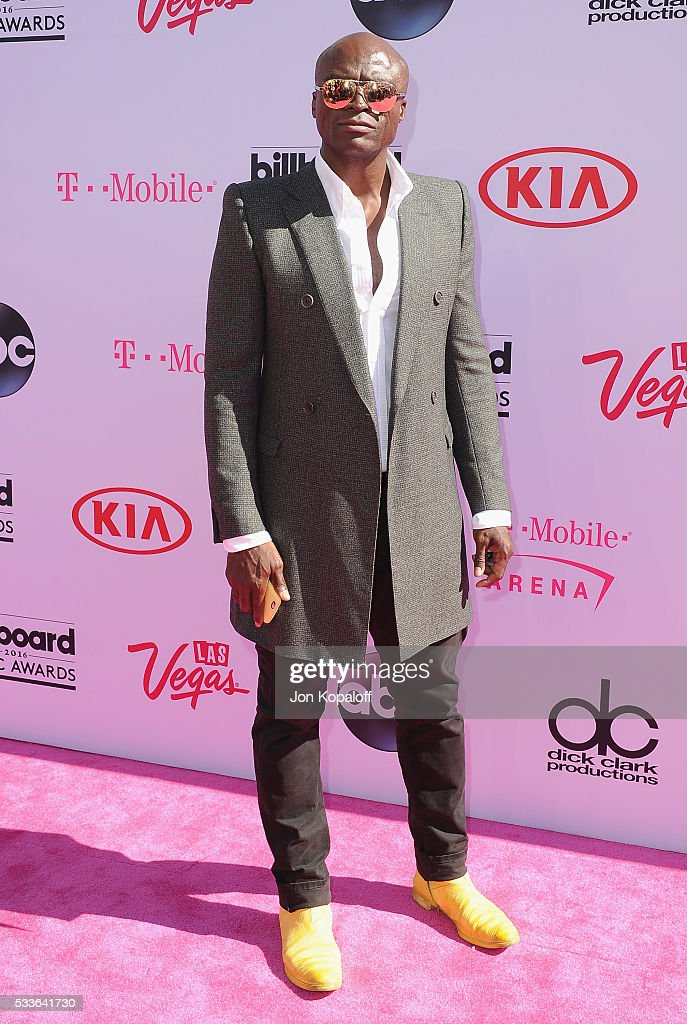 Singer Seal arrives at the 2016 Billboard Music Awards at T-Mobile Arena on May 22, 2016 in Las Vegas, Nevada.