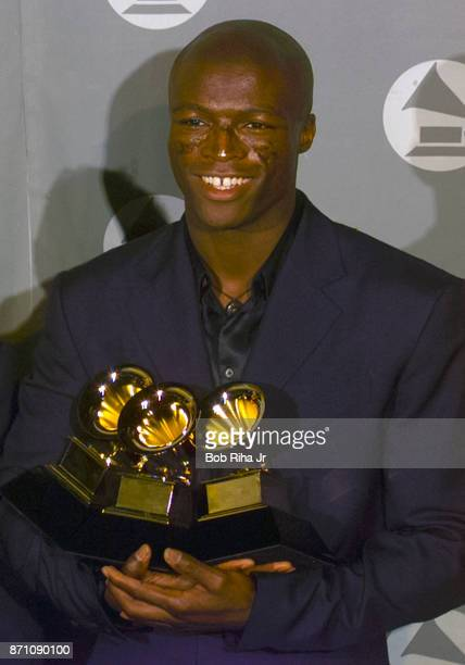 Singer Seal at the 42nd Annual Grammy Awards Show on February 23 2000 in Los Angeles California