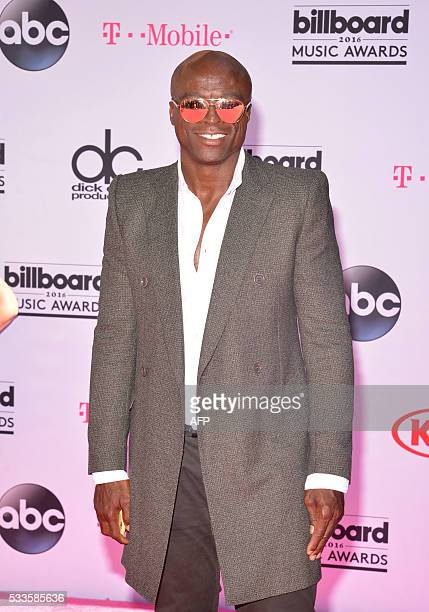 Singer Seal attends the 2016 Billboard Music Awards at the TMobile Arena in Las Vegas Nevada on May 22 2016 / AFP / BRYAN HARAWAY