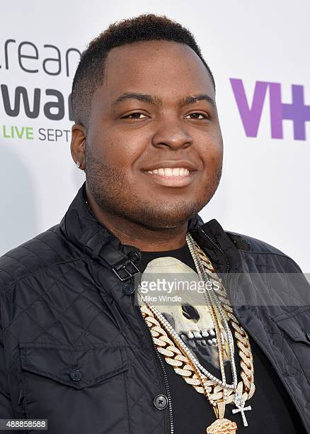 Singer Sean Kingston attends VH1's 5th Annual Streamy Awards at the Hollywood Palladium on Thursday September 17 2015 in Los Angeles California