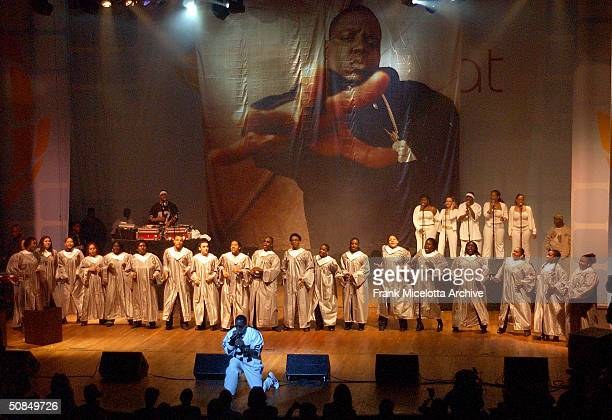 Singer Sean 'P Diddy' Combs performs at Lifebeat's UrbanAID 2 a benefit concert to raise awareness of HIV prevention and AIDS issues in the urban...