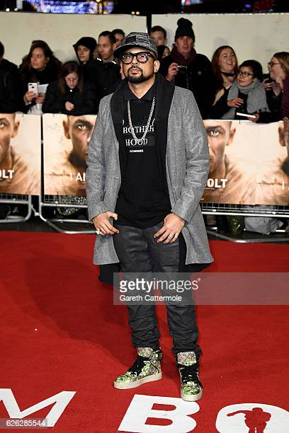 Singer Sean Paul attends the World Premiere of 'I Am Bolt' at Odeon Leicester Square on November 28 2016 in London England