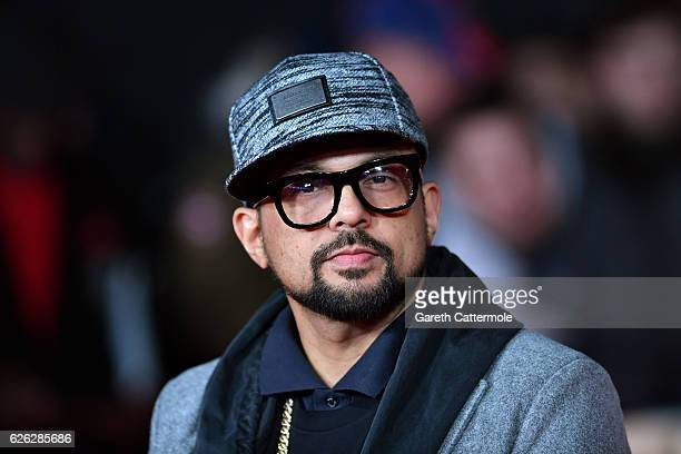 Singer Sean Paul attends the World Premiere of I Am Bolt at Odeon Leicester Square on November 28 2016 in London England