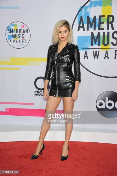 Singer Selena Gomez attends 2017 American Music Awards at Microsoft Theater on November 19 2017 in Los Angeles California