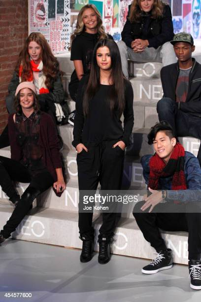 Singer Selena Gomez attends Adidas NEO Spring 2015 at The Waterfront on September 3 2014 in New York City