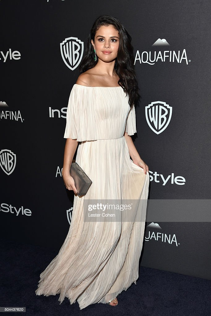 Singer Selena Gomez attends InStyle and Warner Bros. 73rd Annual Golden Globe Awards Post-Party at The Beverly Hilton Hotel on January 10, 2016 in Beverly Hills, California.