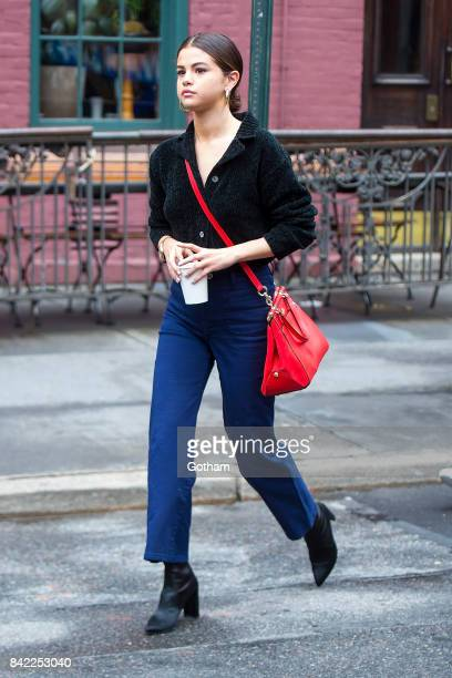 Singer Selena Gomez is seen in the West Village on September 3 2017 in New York City