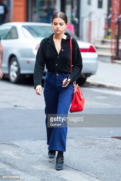 Singer Selena Gomez is seen in the West Village on September 3 2017 in New York City