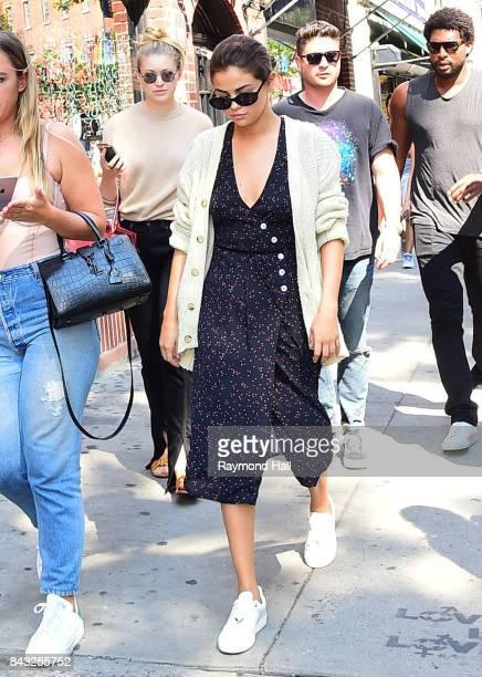 Singer Selena Gomez is seen walking in Soho on September 5 2017 in New York City