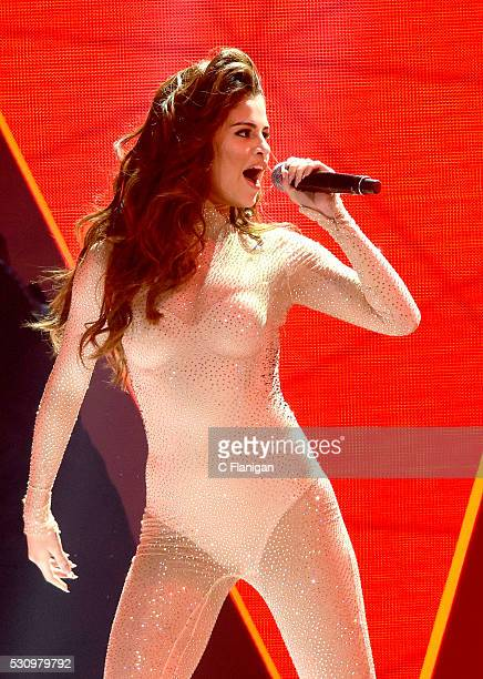 Singer Selena Gomez performs onstage during her 'Revival' tour at SAP Center on May 11, 2016 in San Jose, California.