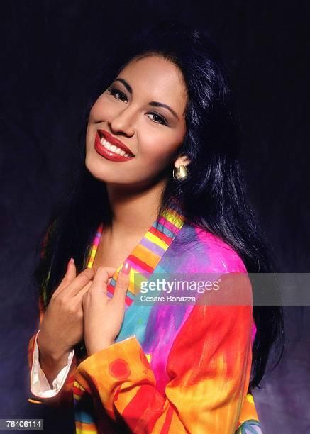 Singer Selena Quintanilla-Pérez poses for a portrait in June 1994 in Los Angeles, California.
