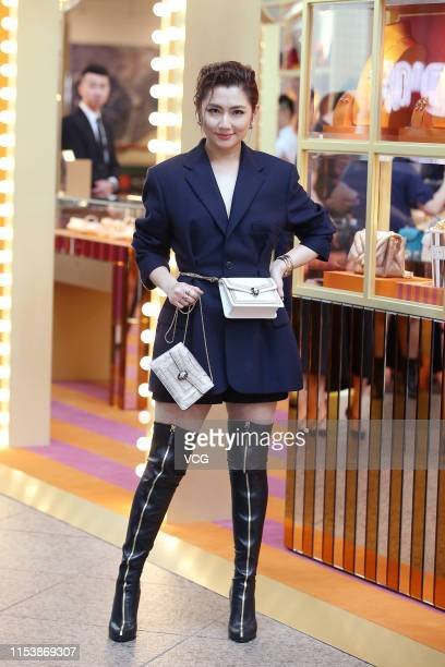 Singer Selina Jen Chiahsuan attends Bvlgari launch event on June 5 2019 in Taipei Taiwan of China
