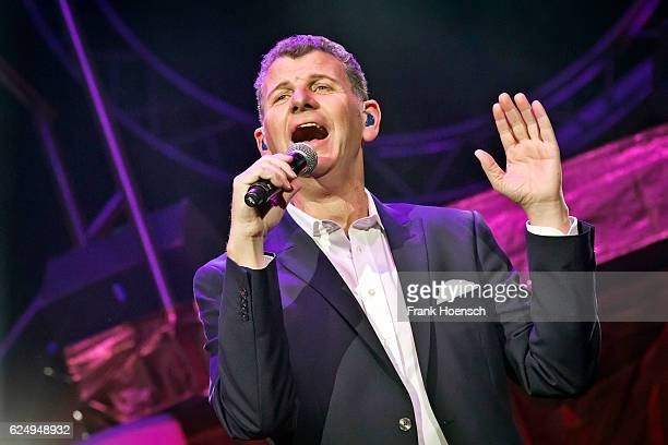 Singer Semino Rossi performs live during 'Die Schlagernacht des Jahres' at the MercedesBenz Arena on November 19 2016 in Berlin Germany