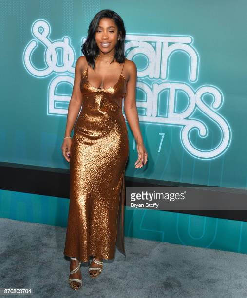 Singer Sevyn Streeter attends the 2017 Soul Train Music Awards at the Orleans Arena on November 5 2017 in Las Vegas Nevada