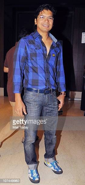 Singer Shaan at the music launch of the movie 'Toonpur Ka Superhero' at Novatel Juhu on December 8 2010