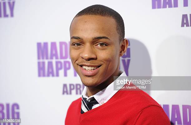 Singer Shad Bow Wow Moss arrives at the Lionsgate premiere of Madea's Big Happy Family at ArcLight Cinemas Cinerama Dome on April 19 2011 in...