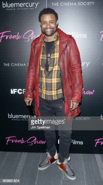 Singer Shaggy attends the premiere of IFC Films' 'Freak Show' hosted by The Cinema Society and Bluemercury at Landmark Sunshine Cinema on January 10...