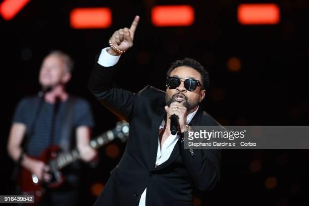 Singer Shaggy performs during the 33rd 'Les Victoires De La Musique' at La Seine Musicale on February 9 2018 in BoulogneBillancourt France