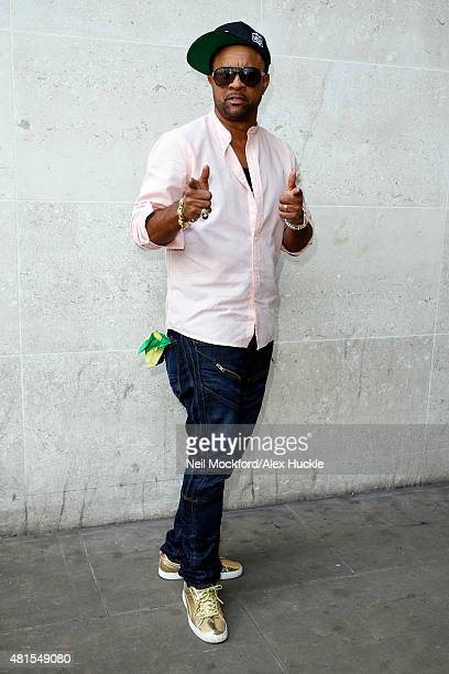 Singer Shaggy seen arriving at the BBC Radio 1 Studios on July 22 2015 in London England Photo by Neil Mockford/Alex Huckle/GC Images