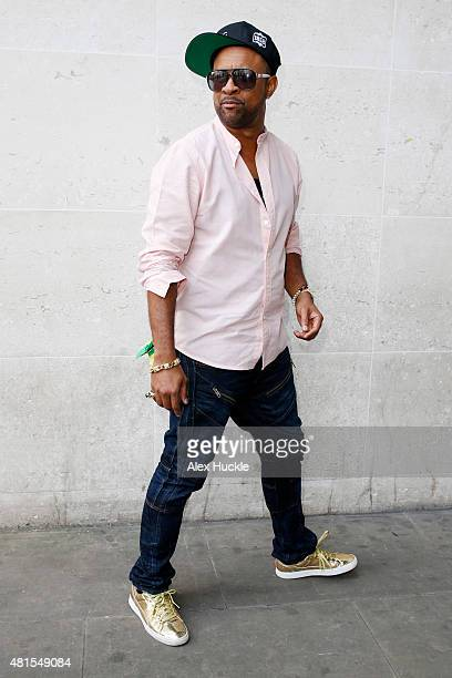 Singer Shaggy seen arriving at the BBC Radio 1 Studios on July 22 2015 in London England Photo by Alex Huckle/GC Images