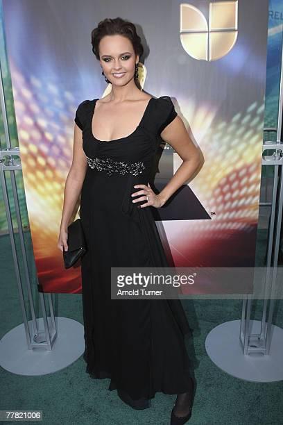 Singer Shaila Durcal arrives at the 8th Annual Latin GRAMMY Awards at Mandalay Bay on November 8, 2007 in Las Vegas, Nevada.