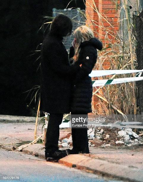 Singer Shakira and Antonio De La Rua are seen sighting on November 25 2010 in Barcelona Spain