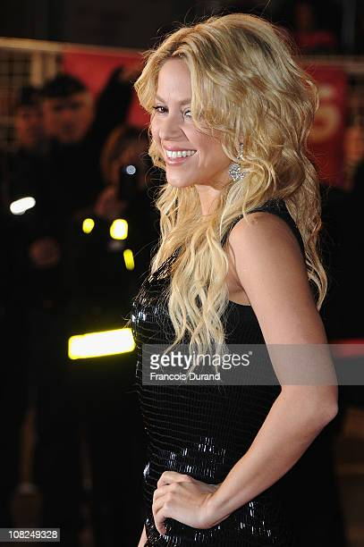 Singer Shakira attends the NRJ Music Awards 2011 on January 22, 2011 at the Palais des Festivals et des Congres in Cannes, France.